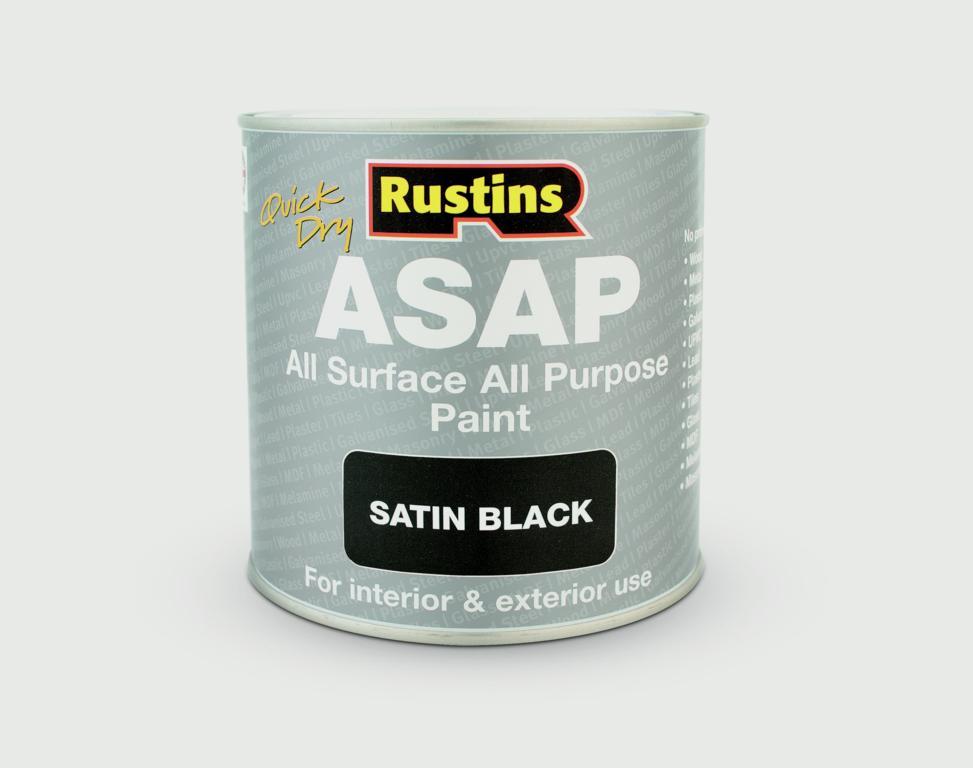 Rustins ASAP All Surface All Purpose 500ml - Black