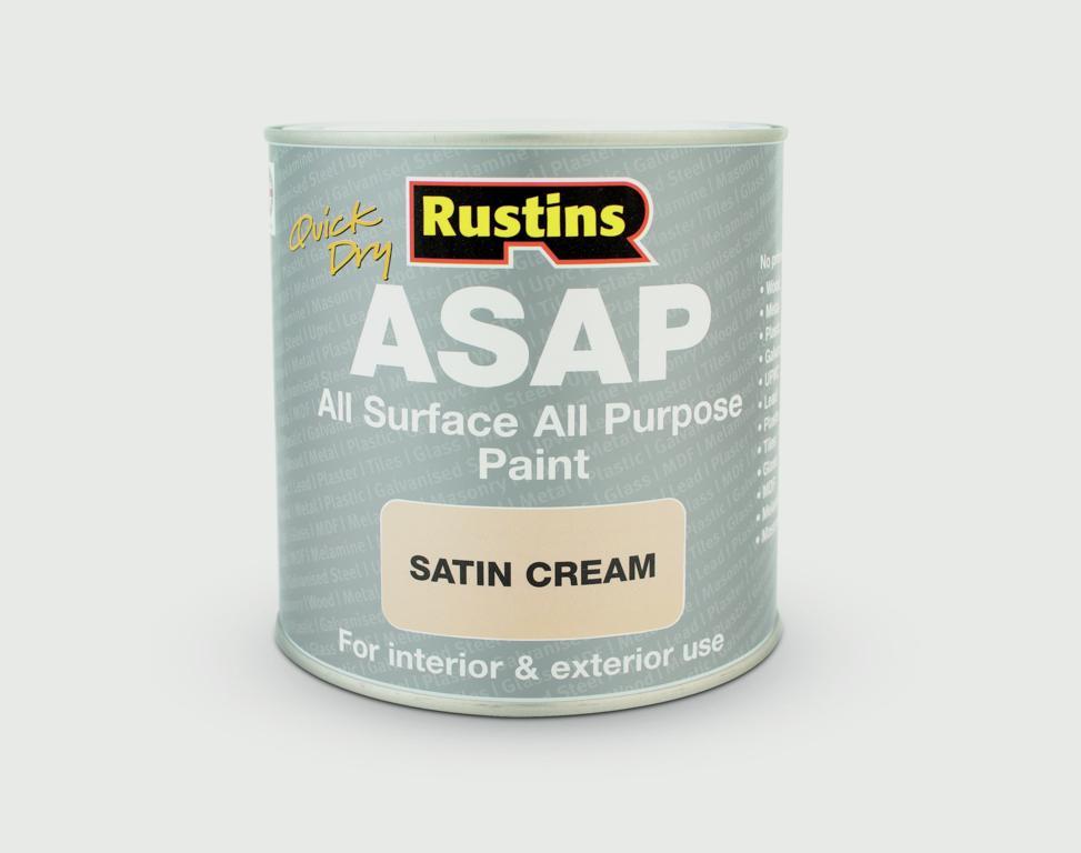 Rustins ASAP All Surface All Purpose 500ml - Cream