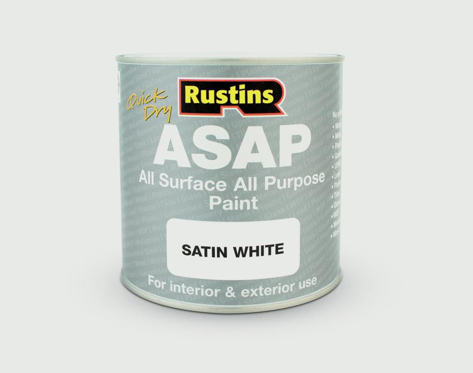 Rustins ASAP All Surface All Purpose 250ml - White