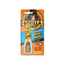 Gorilla Super Glue Brush and Nozzle 12gm