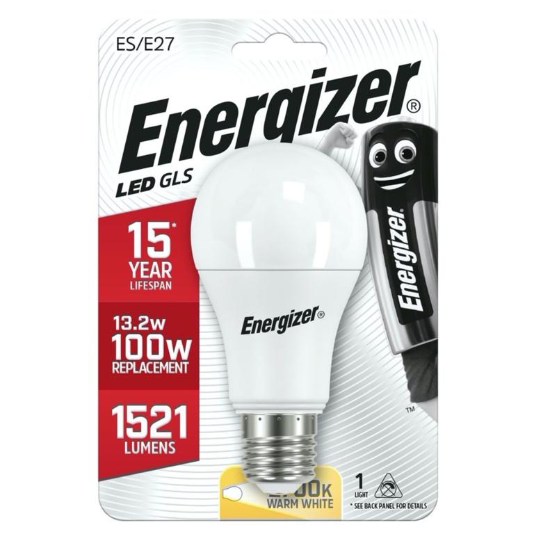Energizer LED GLS E27 Warm White ES - 13.2w 1521lm
