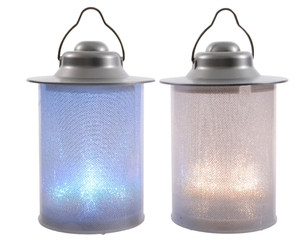 Kaemingk Indoor Dual Colour Lantern - 2 Light
