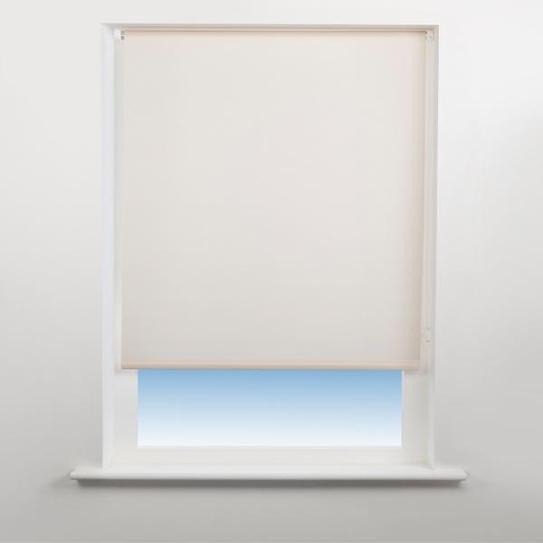Universal Plain Daylight Roller Blind Almond - 120cm