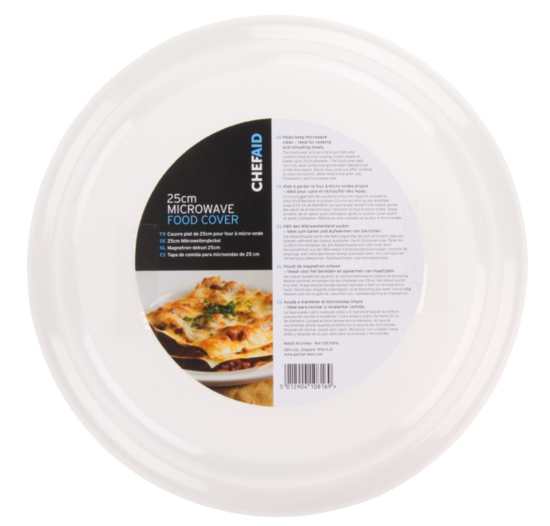 Chef Aid Microwave Food Cover - 24cm