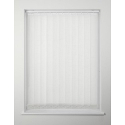 Swish Cordless Vertical Blind - 122 x 137cm White
