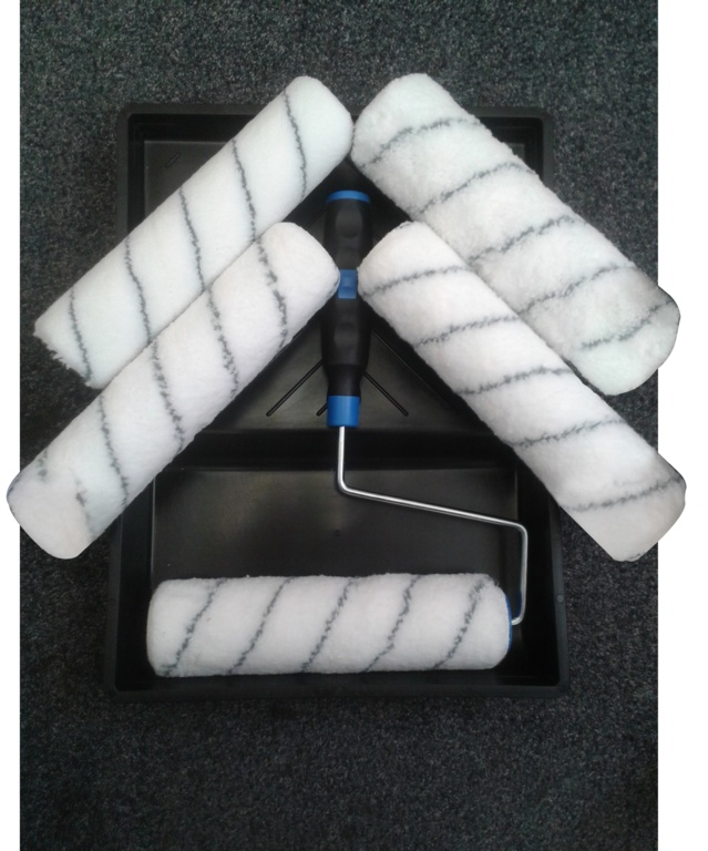 SupaDec Roller And Tray Set - With 5 Sleeves