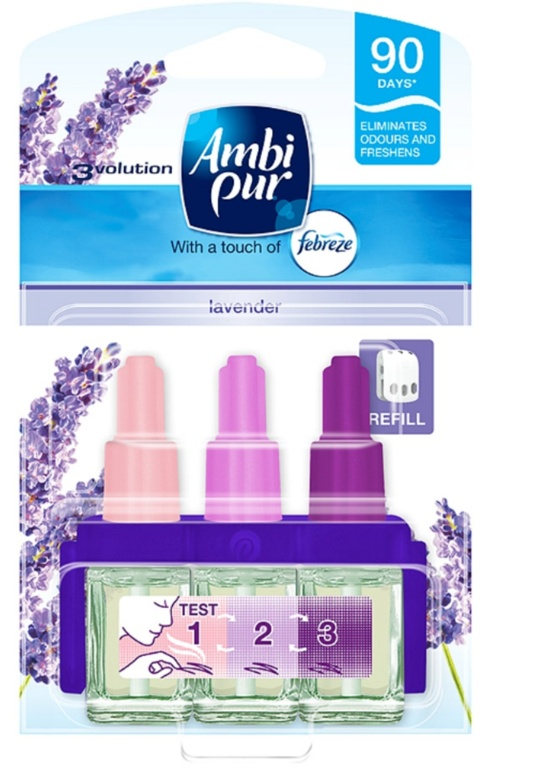 Ambi Pur 3 Volution Refill 20ml - Lavender