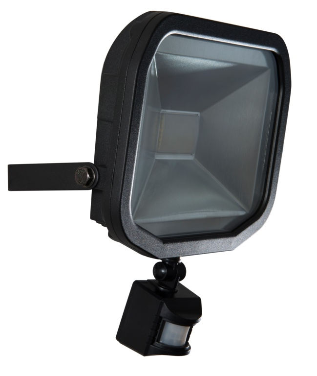 Luceco Slim Floodlight PIR - 50w