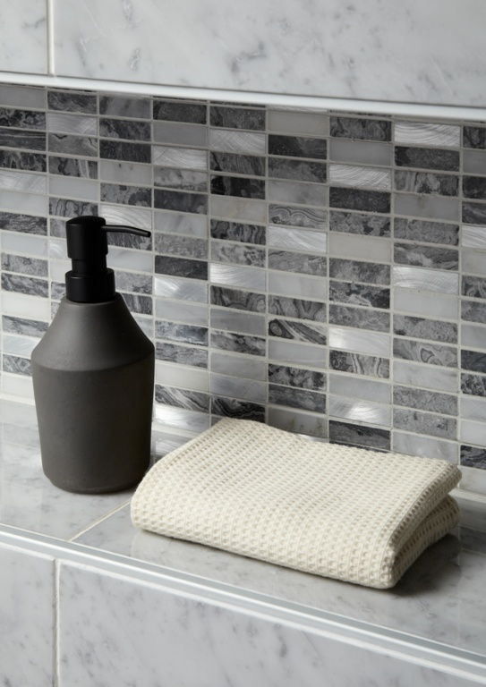 Verona Creswell Grey Mix Linear Mosaic 300 x 300mm - Single