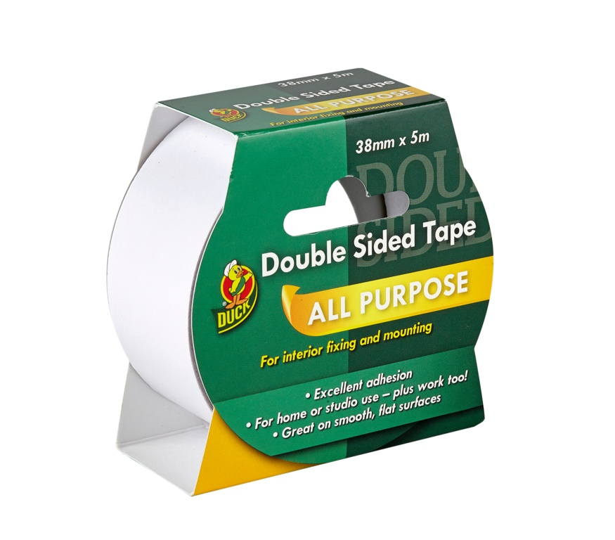 Duck Tape Double Sided Tape - 38mm x 5m