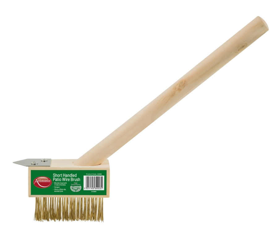 Ambassador Weed Brush Short Handled