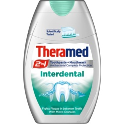 Theramed 2 in 1 Toothpaste & Mouthwash 75ml