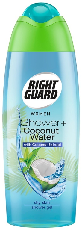 Right Guard Women Shower 250ml - Coconut Water