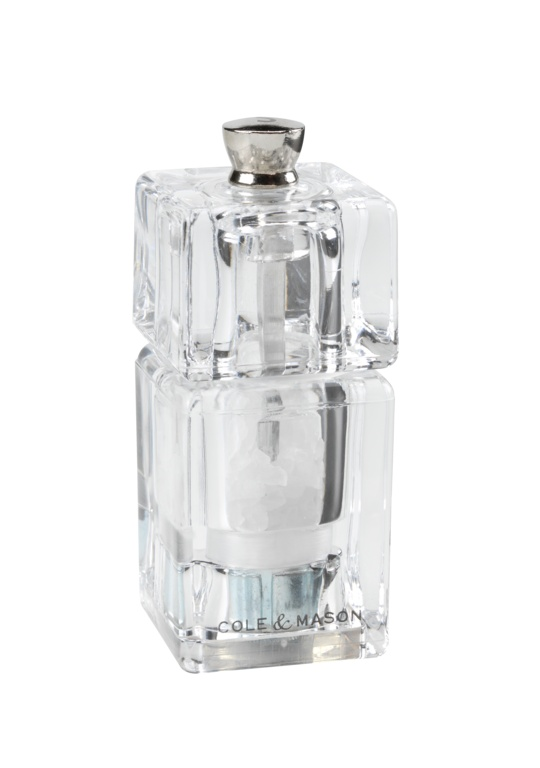 Cole & Mason Mini Cube Salt Mill - 90mm