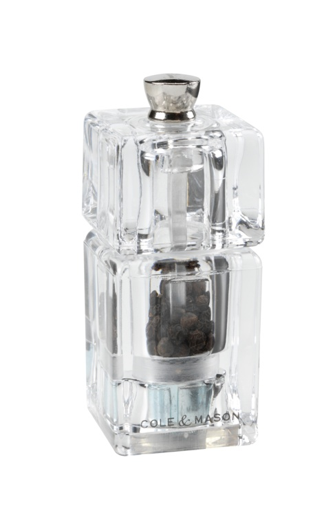 Cole & Mason Mini Cube Pepper Mill - 90mm