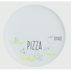 Luminarc Friends Time Bistro Pizza Plate