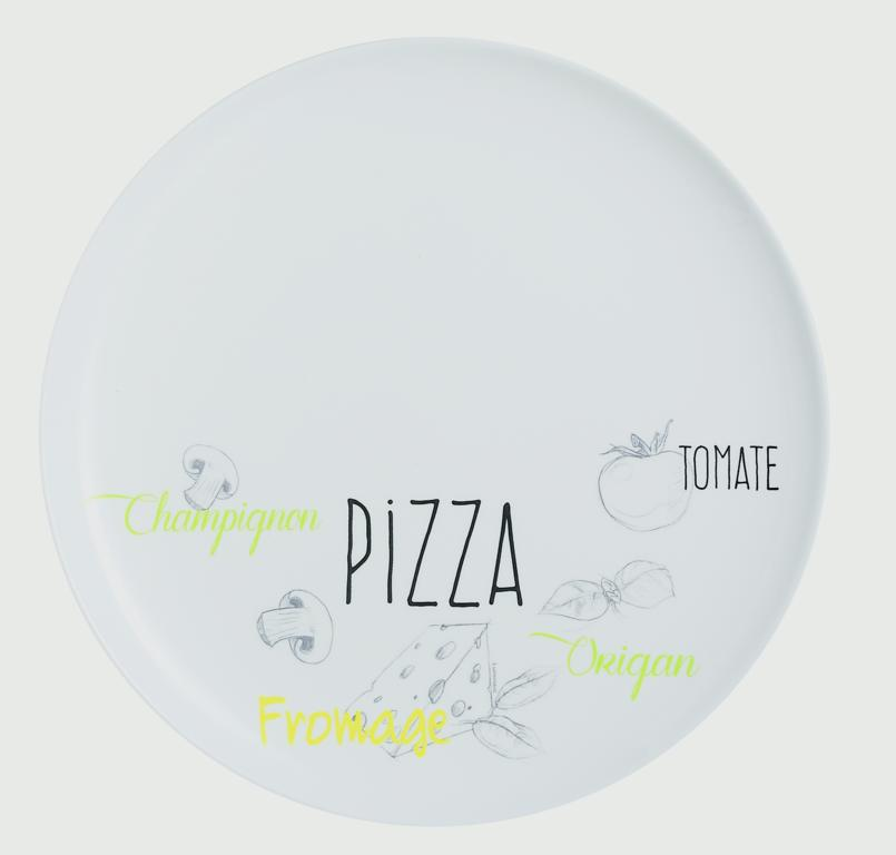 Luminarc Friends Time Bistro Pizza Plate - 32cm