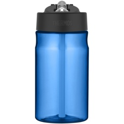 Thermos Hydration Bottle with Straw Blue