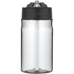 Thermos Hydration Bottle with Straw Clear