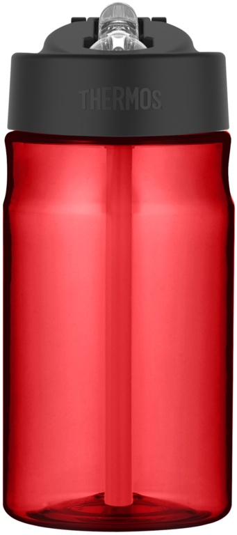 Thermos Hydration Bottle with Straw Red - 355ml