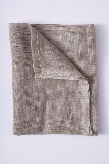 Standard Linen Scrim Hemmed - 36 x 36