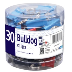 A Star Bulldog Clips in Tube