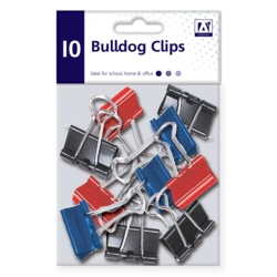 A Star Stat Bulldog Clips In Polybag