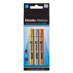 A Star Metallic Markers