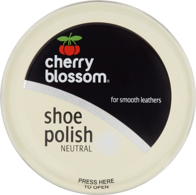 Cherry Blossom Shoe Polish - 50ml Tin Neutral