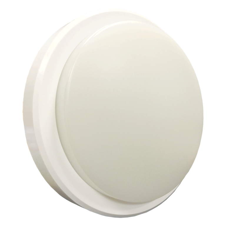 Lyveco LED Bulkhead IP54 800lmn 4000k - 10w Round