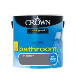 Crown Bathroom 2.5L Tin Bath