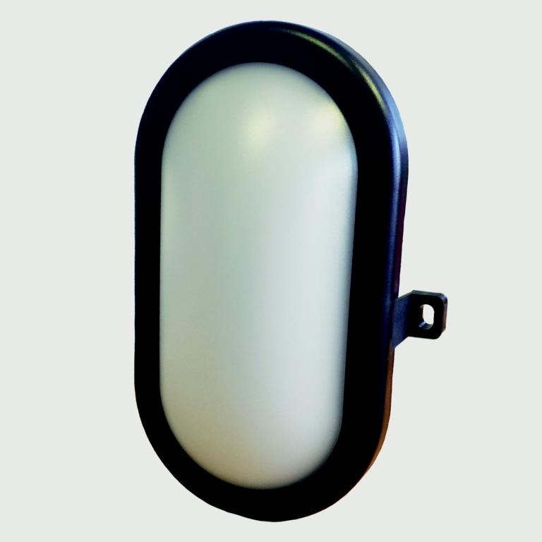 Lyveco LED Bulkhead IP65 400 Lumens - 5w Black
