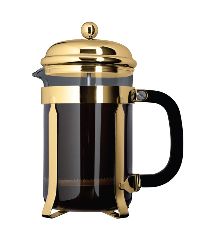 Grunwerg Cafetiere Gold Cafe Ole - 6 Cup