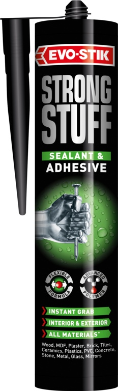Evo-Stik Strong Stuff Sealant Adhesive - White 290ml