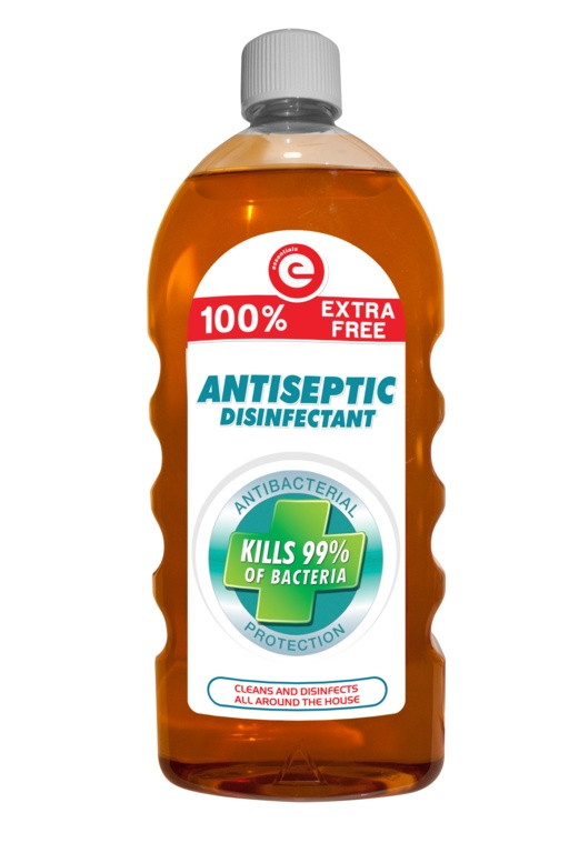 Essentials Antiseptic Disinfectant - 1L 100% Free