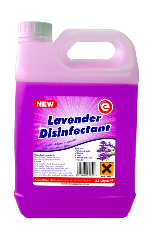 Essentials Disinfectant 2.5L - Lavender