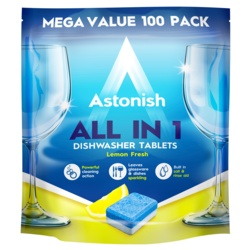 Astonish All In 1 Dishwasher Tablets