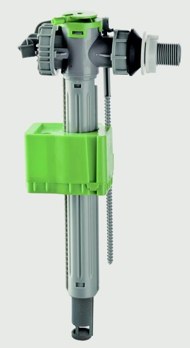 Croydex Telescopic Side Entry Fill Valve - Plastic Shank