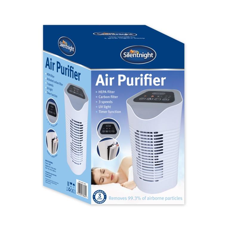 Silentnight Air Purifier - White