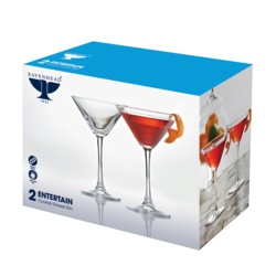Ravenhead Entertain Cocktail Glasses Pack 2