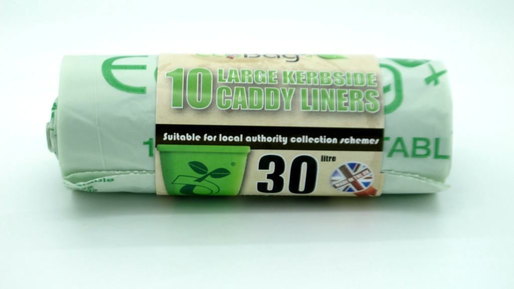 Ecobag Compostable Kerbside Caddy Liners - 30L