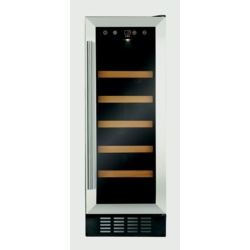 CDA Slim Line Wine Cooler Stainless Steel
