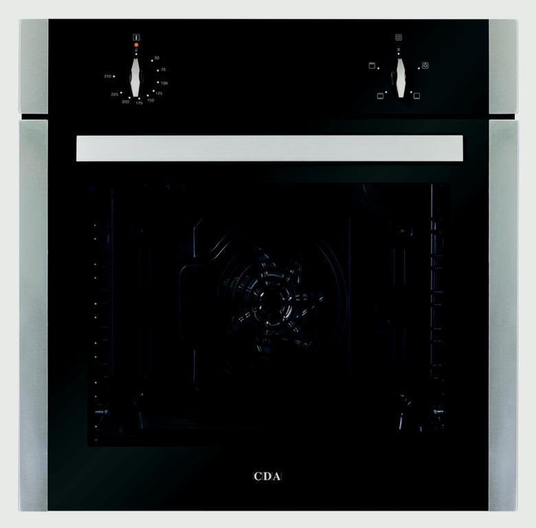 CDA Four Function Electric Fan Oven - Stainless Steel