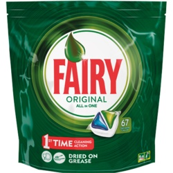 Fairy All in One Dishwasher Tablets Pack 67