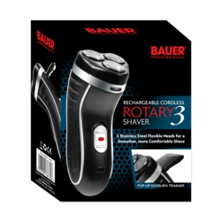 Bauer Smooth Action Cordless Rotary 3 shaver