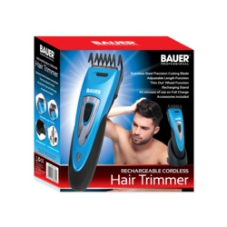Bauer Rechargeable Cordless Hair Trimmer