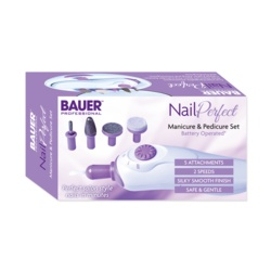 Bauer Nail Perfect Manicure & Pedicure Set