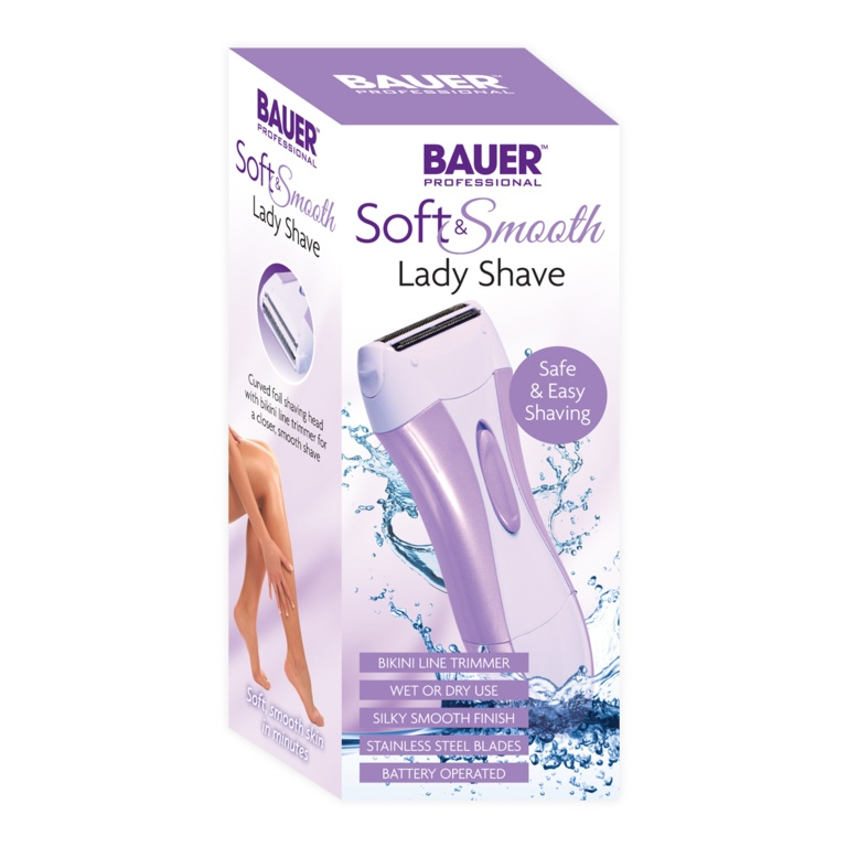 Bauer Soft and Smooth lady shave - Battery operated
