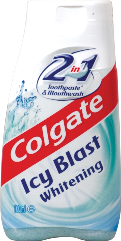 Colgate Toothpaste 100ml - 2in1 - Icy Blast
