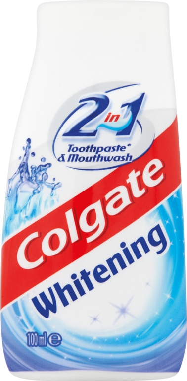 Colgate Toothpaste 100ml - 2in1  - White